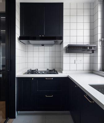 20万以上三室一厅现代简约风格厨房欣赏图