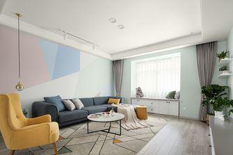 富裕型三北欧风格客厅图片大全
