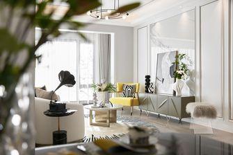 富裕型90平米三室一厅现代简约风格客厅效果图
