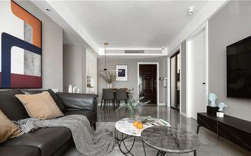 经济型110平米三室两厅现代简约风格客厅图片大全