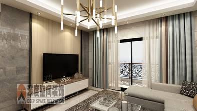 5-10万110平米四室两厅现代简约风格客厅欣赏图