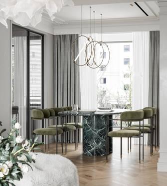 15-20万130平米三室一厅法式风格餐厅图