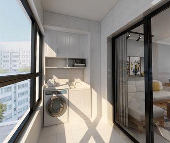 三室一厅现代简约风格阳台效果图