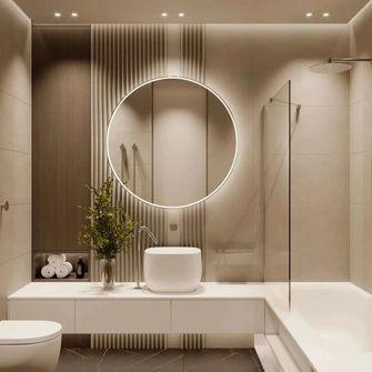 富裕型50平米一室一厅北欧风格卫生间图