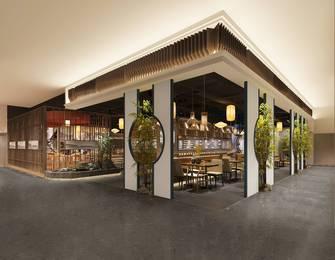140平米混搭风格餐厅装修案例