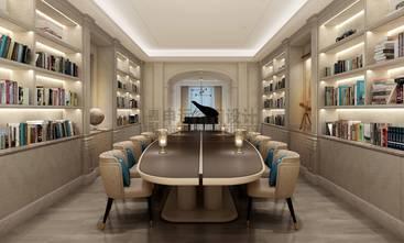 20万以上140平米别墅港式风格书房设计图