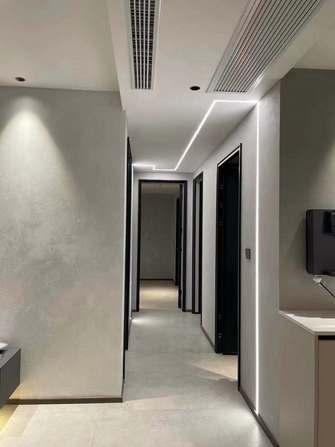 富裕型120平米三室两厅现代简约风格走廊装修效果图