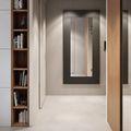 经济型60平米公寓北欧风格走廊装修效果图
