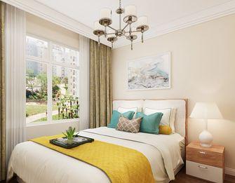 80平米北欧风格卧室装修图片大全