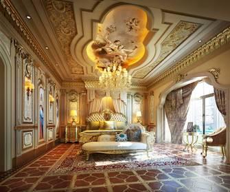 140平米复式欧式风格卧室图