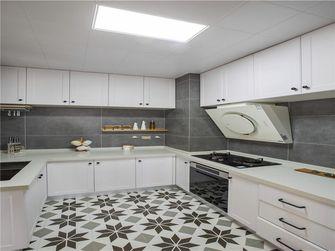 富裕型120平米三室两厅北欧风格厨房图片