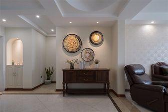 富裕型110平米三室两厅美式风格客厅装修案例
