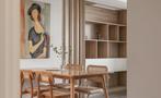 120平米三室三厅日式风格餐厅效果图