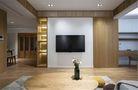 10-15万100平米三室一厅日式风格客厅欣赏图