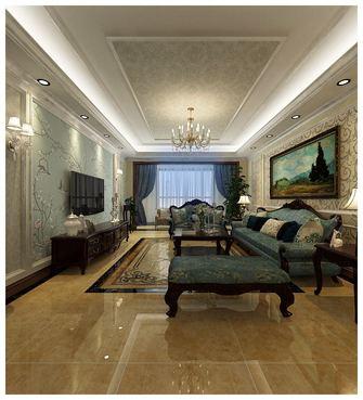 经济型140平米四美式风格客厅图片大全