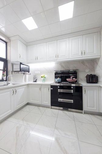 110平米三室三厅美式风格厨房欣赏图