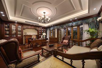 20万以上140平米别墅欧式风格书房图片