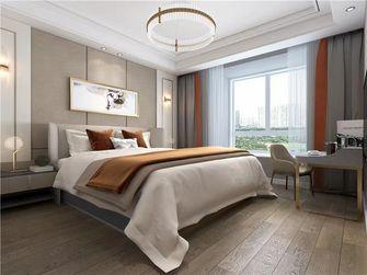 130平米三室一厅现代简约风格卧室图片