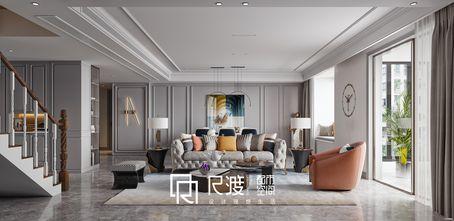 20万以上140平米四室四厅美式风格餐厅图
