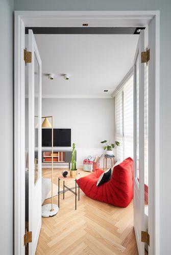 120平米三混搭风格客厅装修案例