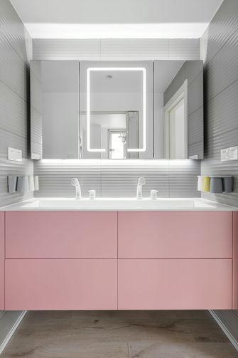 130平米三室两厅日式风格卫生间装修案例