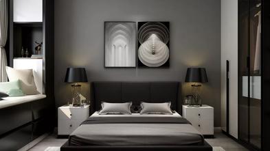 富裕型80平米现代简约风格卧室图片大全