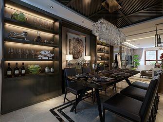 120平米三室两厅港式风格餐厅图片