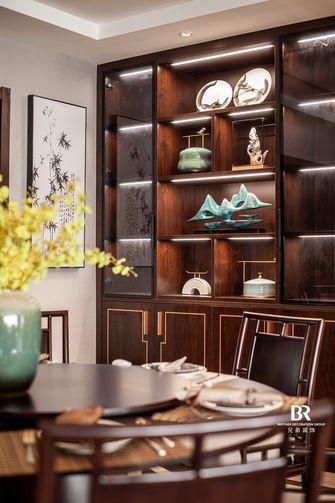 140平米四室三厅中式风格餐厅装修案例