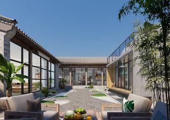 豪华型140平米别墅现代简约风格走廊欣赏图