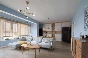 5-10万90平米三北欧风格客厅效果图