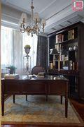 100平米三室两厅欧式风格书房图片