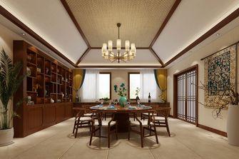 豪华型140平米别墅东南亚风格餐厅效果图