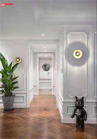 20万以上140平米三室两厅法式风格走廊图片