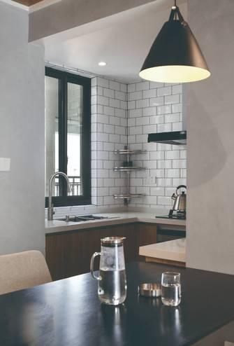 10-15万100平米三室两厅现代简约风格厨房图片