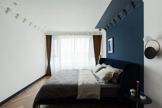 豪华型120平米三室一厅轻奢风格卧室装修效果图