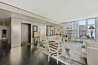 富裕型140平米四新古典风格客厅装修图片大全
