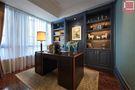 120平米三室两厅新古典风格书房装修效果图