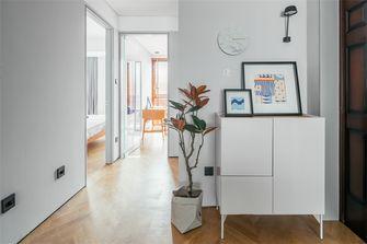 富裕型100平米三室一厅北欧风格玄关图