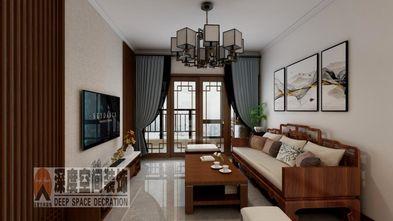 经济型100平米三室两厅现代简约风格客厅设计图
