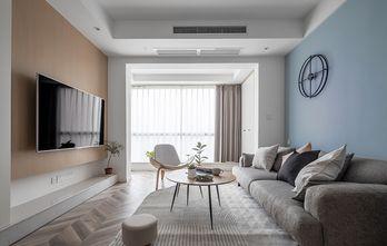 10-15万90平米三室一厅北欧风格客厅装修案例