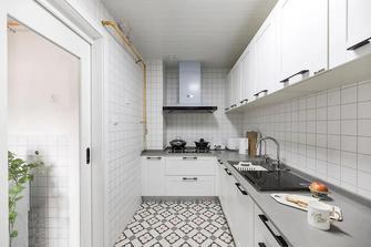 经济型60平米一室一厅北欧风格厨房设计图