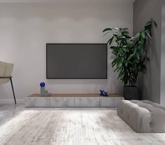 15-20万40平米小户型现代简约风格客厅装修效果图
