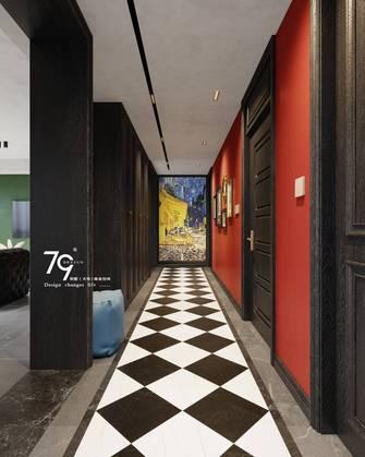 140平米四室两厅混搭风格走廊图