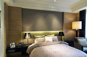 20万以上120平米三室两厅轻奢风格卧室装修图片大全