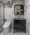 富裕型130平米三室两厅新古典风格卫生间图