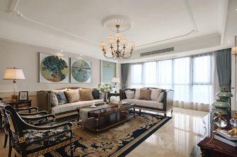 富裕型100平米三室两厅欧式风格客厅设计图