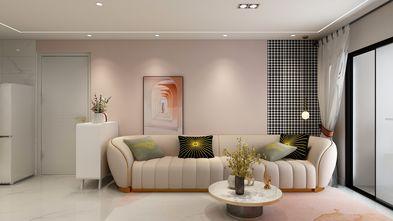 5-10万30平米超小户型现代简约风格客厅装修案例