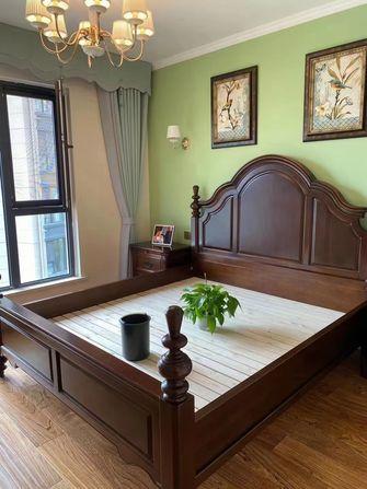10-15万100平米三室一厅美式风格卧室设计图
