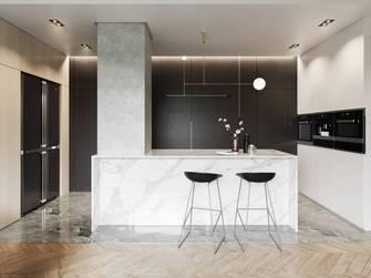 80平米法式风格厨房图片