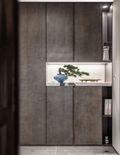富裕型140平米三室两厅中式风格玄关效果图